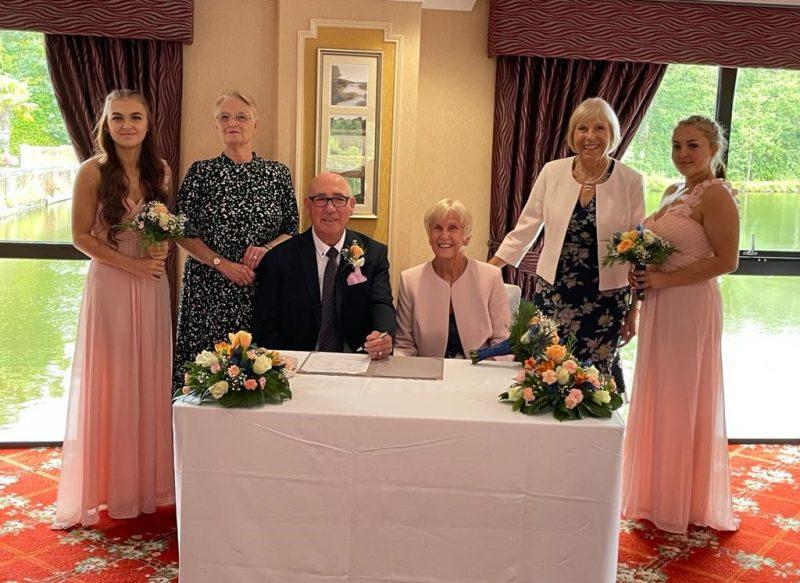 Gill & Terry Wedding 8